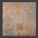 Golden Sienna Tumbled Paver